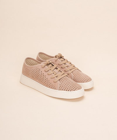 Street Ready Sneakers - Dusty Rose