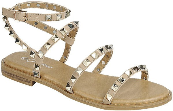 Travel Studded Sandals