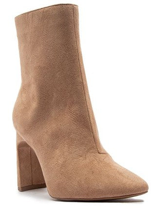 Done With You Booties - Warm Taupe