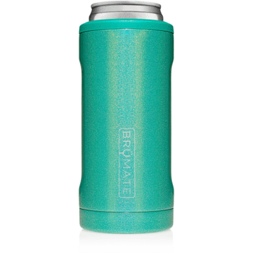 Hopsulator Slim Can Cooler - Glitter Peacock