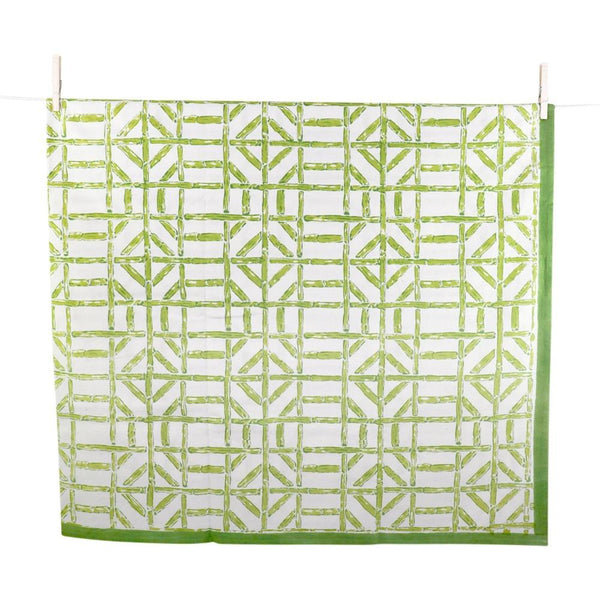 Multi Tablecloth - Green Bamboo