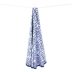 Multi Tablecloth - Blue Bamboo