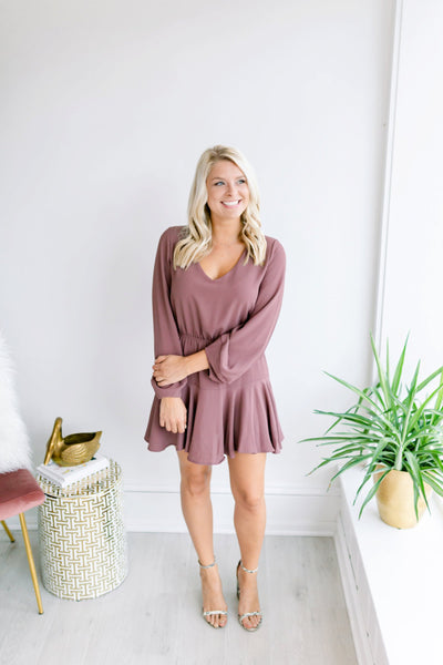 Ashlyn Ruffle Dress