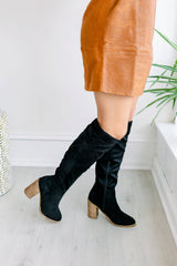 Saint Over the Knee Boots - Black
