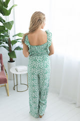 Must Be Dreaming Floral Tie Jumpsuit