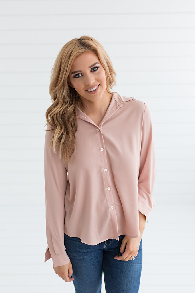 Cabin Fever Button Up Top