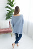Spring is Calling Sweater Top - Ice Blue
