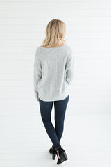 Cloudspun Sweater - Silver