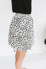 Hottie Dottie Mini Skirt
