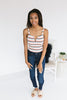 Grace Striped Bodysuit