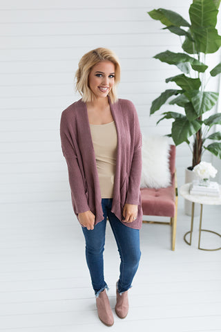 Juliette Open Cardigan