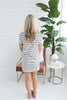 Analyse Striped Shift Dress