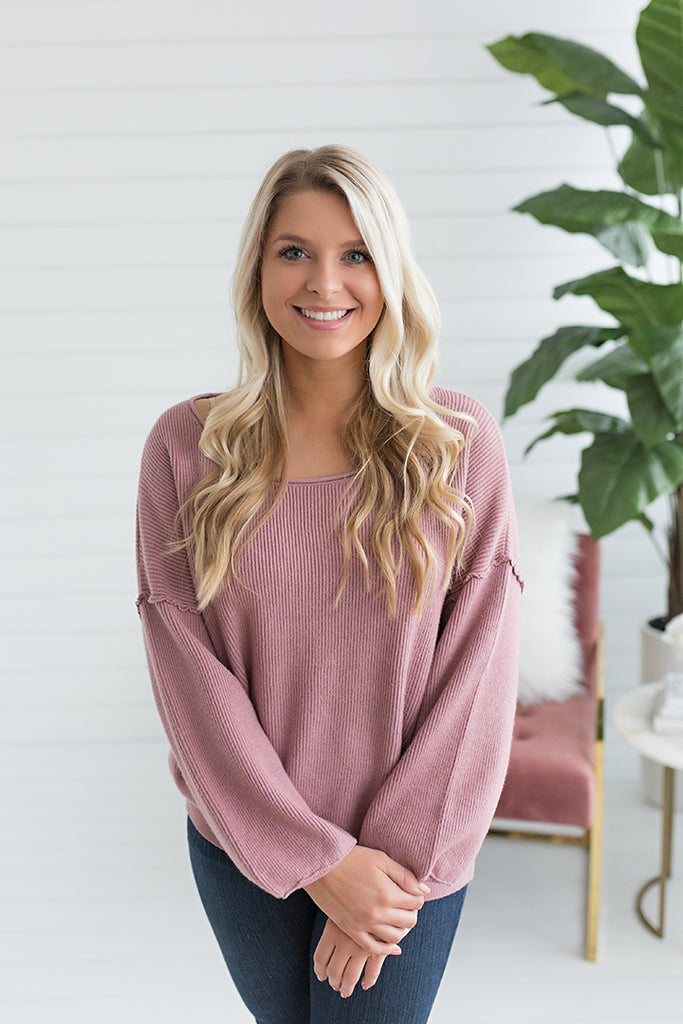 Annie Drop Shoulder Sweater