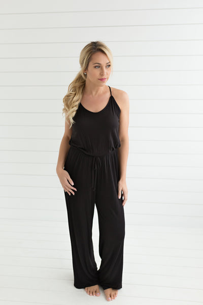 Laurie Casual Jumpsuit - Black