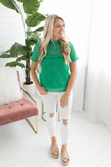 GNO Lace Top - Green