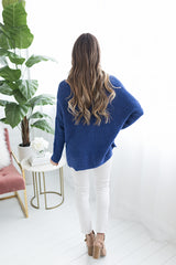 Hayden High Low Vneck Sweater