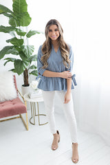 Juliette Striped Top