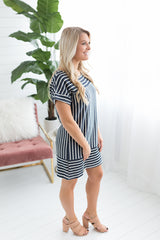 Beach Day Striped Dress