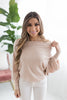 Lou off the Shoulder Dolman Sleeve Sweater