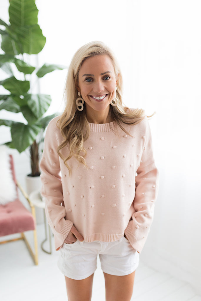 Ronnie Pom Pom Sweater
