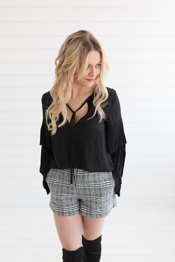 Ramona Tiered Sleeve Blouse