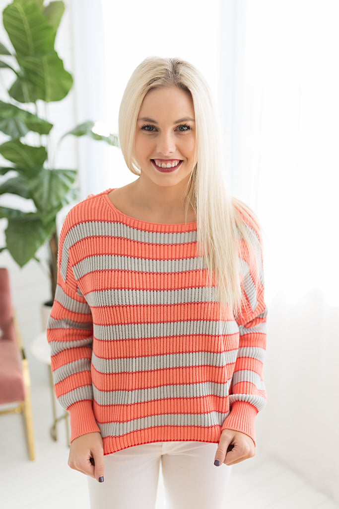 Brittany Boat Neck Sweater