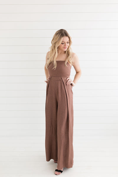 Collins Stripe Jumpsuit