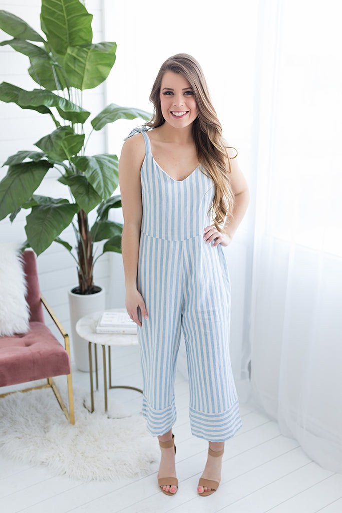 Catherine Wide Leg Jumpsuit
