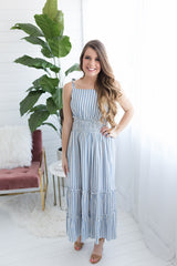 Juliette Striped Maxi Dress