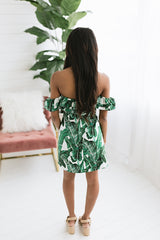 Treat Yourself Tropical Dress