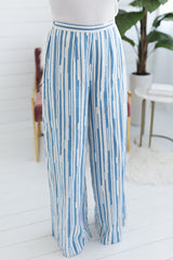 Ennis Striped Wide Leg Pants