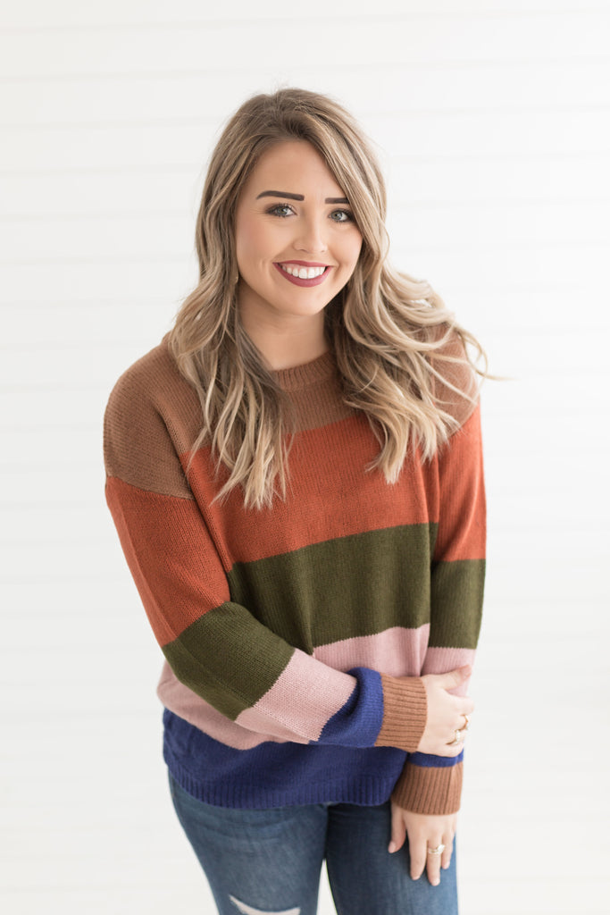 Bethany Ribbed Sweater