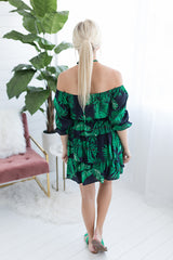 Paradise Hunting Off the Shoulder Dress