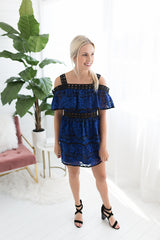 Loretta Lace Mini Dress