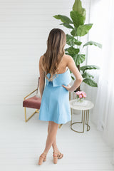 Kennedy Mini Dress - Blue