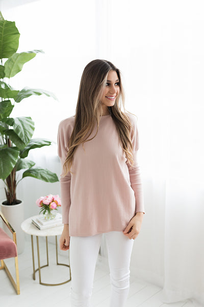 Crista High Low Sweater