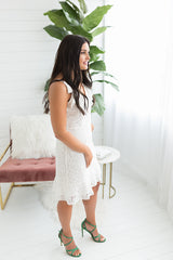 Loma Tassel Strap Dress
