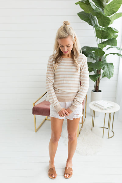 Spring n Your Step Lightweight Sweater