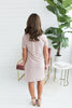 The Triblend Side Knot Dress - Mauve