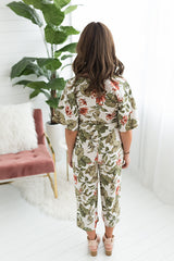 Colleen Floral Jumpsuit
