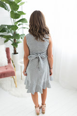 Tea Time Wrap Dress