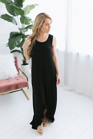 Bucket List High Low Maxi Dress