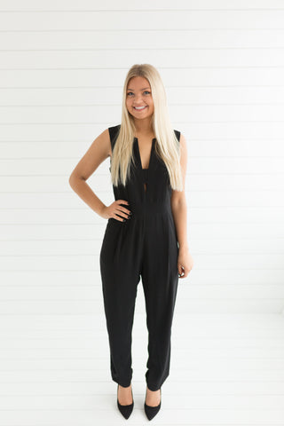 Well Loved Cutout Jumpsuit