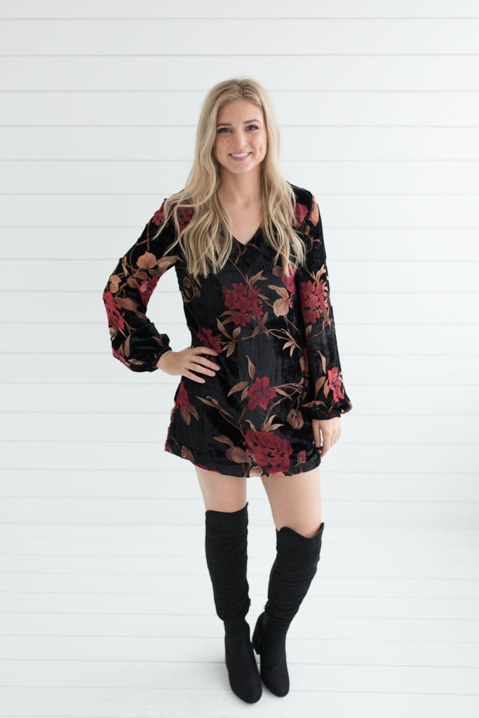 Fatal Attraction Rose Dress