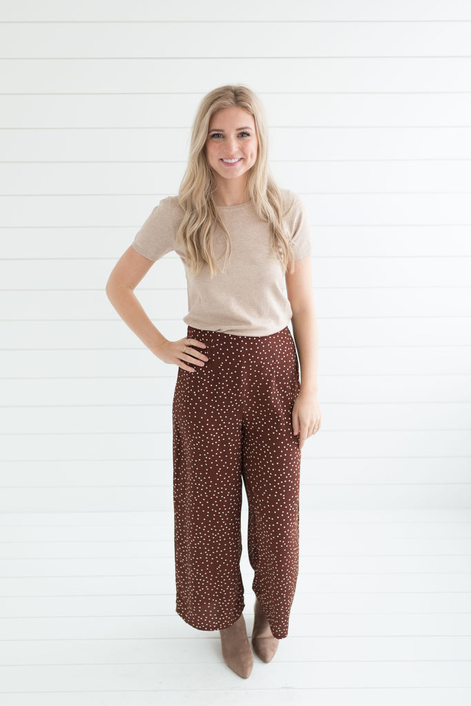 Camille Polka Dot Pants
