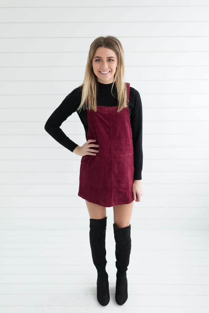 Courtney Corduroy Dress