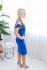 Tamara Sweetheart Dress - Blue