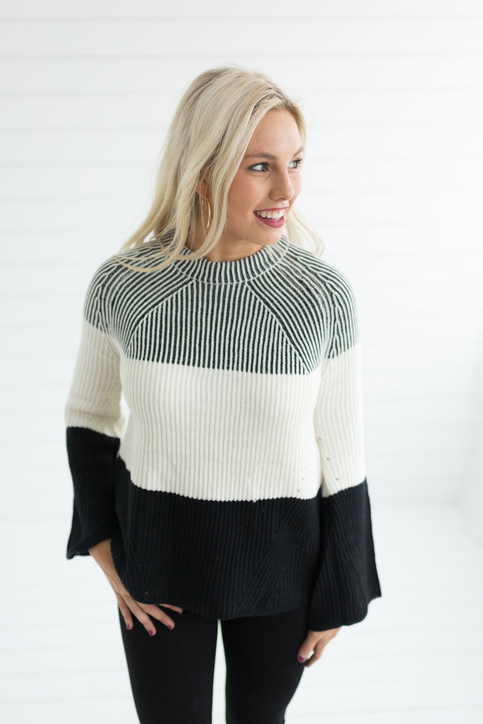 Blair Mock Neck Sweater