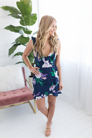 New Beginnings Floral Dress
