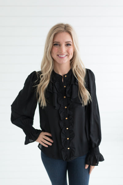 Brooke Bishop Sleeve Blouse